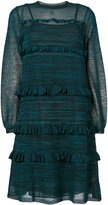 M Missoni frill trim dress