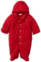Ralph Lauren Infant Boys' Diamond Quilted Corduroy Trimmed Bunting - Sizes 3-9 Months