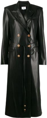Nanushka Manila vegan leather coat