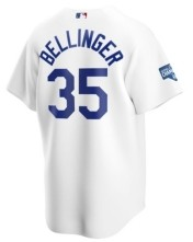 Nike Men's Los Angeles Dodgers 2020 World Series Champ Patch Jersey