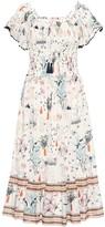 Tory Burch Meadow Folly cotton midi dress