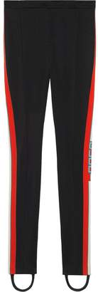 Gucci Technical jersey stirrup leggings