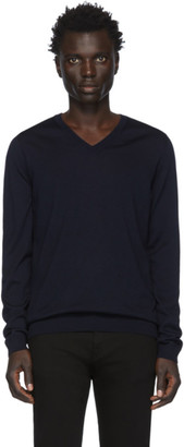BOSS Navy Melba-P Sweater