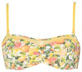 Stella McCartney citrus print bandeau bikini top