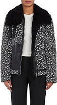 Altuzarra WOMEN'S KAZAN SHEARLING & TECH-TWILL COAT