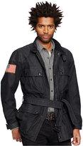 Denim & Supply Ralph Lauren Men's Waxed-Cotton Moto Jacket