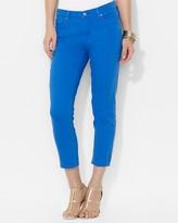 Lauren Ralph Lauren Slimming Cropped Modern Straight Jeans
