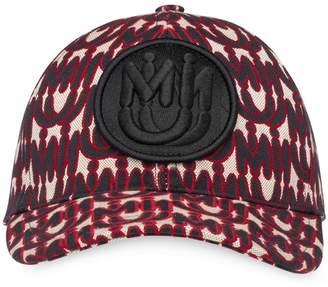 Miu Miu jacquard baseball cap