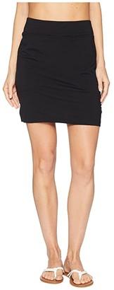 Icebreaker Yanni Merino Skirt (Black) Women's Skirt
