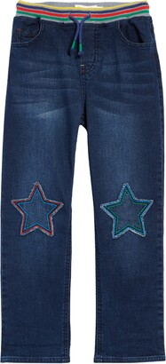 Boden Kids' Pull-On Denim Pants