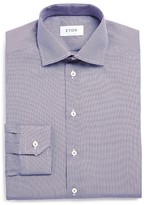 Eton of Sweden Micro Circle Print Regular Fit Dress Shirt