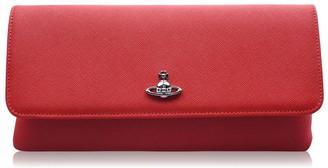 Vivienne Westwood Victoria Flap Clutch Bag