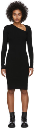 Helmut Lang Black Raglan Dress