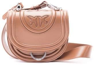 Pinko Leather Shoulder Bag