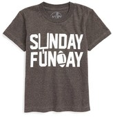 Kid Dangerous Boy's Sunday Funday Graphic T-Shirt