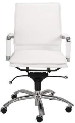 Pottery Barn Chalmers Low Back Swivel Desk Chair