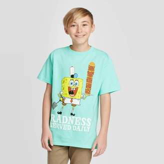 SpongeBob Squarepants Boy' pongeBob Radne T-hirt -