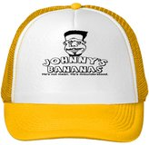 Donovan Jayne Men's Johnny's Bananas Mesh Snapback Trucker Hats Caps