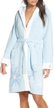Barefoot Dreams CozyChic(TM) Disney Frozen Hooded Robe