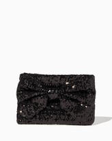 Charming charlie Sequin Crossbody with Bow