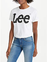 Lee Short Sleeve Logo T-Shirt, White