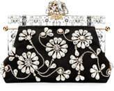 Dolce & Gabbana Christmas Raso Ricamo Clutch Bag