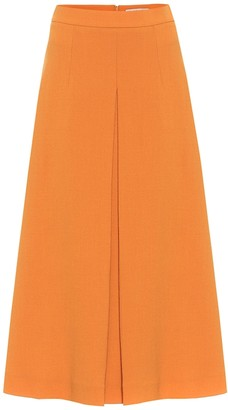Emilia Wickstead Sato wool midi skirt