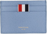 Thom Browne Blue Single Card Holder