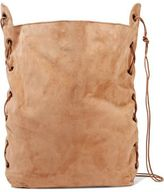 Zimmermann Lace-Up Suede Tote