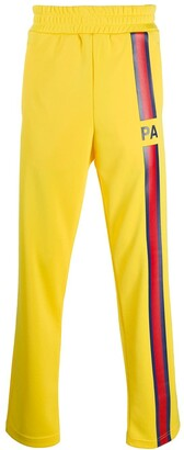 Palm Angels Striped Patch Track Pants