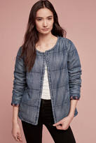Cloth & Stone Quilted Plaid-Lined Car Coat