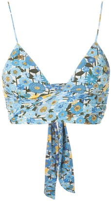 Clube Bossa Havel printed bikini top