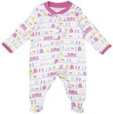 Jo-Jo JoJo Maman Bebe London Footie (Baby)-Pink-Newborn