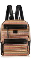 Christian Louboutin Aliosha woven-leather backpack