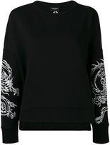 Marcelo Burlon County of Milan printed sweatshirt - women - Cotton/Polyester - XXS