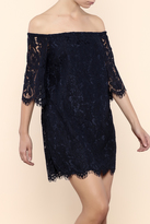 Do & Be Do-Be Off Shoulder Lace Dress