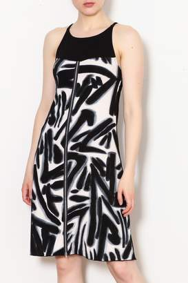 N. Rock N' Karma Studio Print Dress
