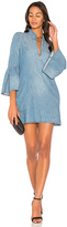 Blank NYC BLANKNYC Bell Sleeve Mini Dress.