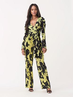 Diane von Furstenberg Kayleigh Tissue Jersey Wrap Top