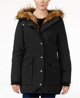 Levi's Faux-Fur-Trim Hooded Parka