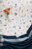 Anthropologie Peached Cotton Crib Sheet