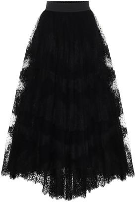 Dolce & Gabbana Tulle maxi skirt