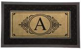 Evergreen Flag & Garden Sassafras Monogram Decorative Insert Doormat Letter: A