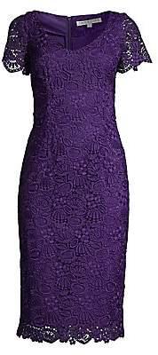 Trina Turk Women's Wine Country Embroidery Sheath Dress - Size 0