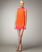 M. Missoni Scuba Colorblock Dress