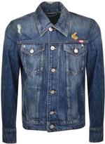 Vivienne Westwood D Ace Denim Jacket Blue