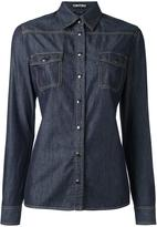 Tom Ford chest pocket denim shirt