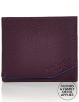 Ted Baker Men'sRajah Leather Billfold Wallet