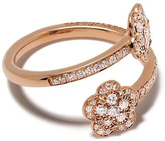 Pasquale Bruni 18kt rose gold Figlia dei Fiori diamond ring