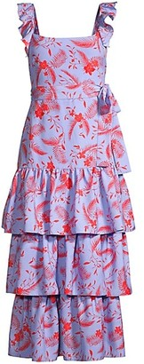 LIKELY Juno Floral Tiered Dress